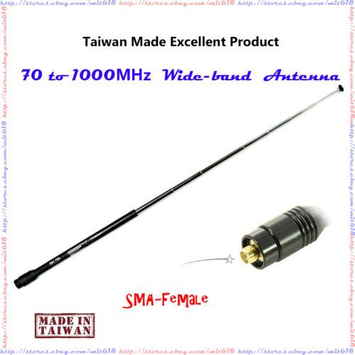 Diamond SMA Female Scanner Antenna RH-795 Style Telescopic Wide-band Antenna