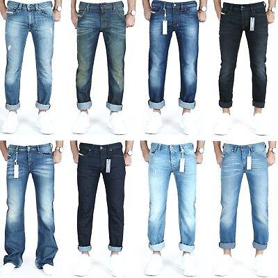 Industrioso Diesel Jeans Uomo * Svendita * Vari Modelli In Dimensione W27-w30 * Sale *-mostra Il Titolo Originale