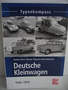 Deutsche-Kleinwagen-von-1945-1974-Typenkompass-Motorbuchverlag-127-Seiten