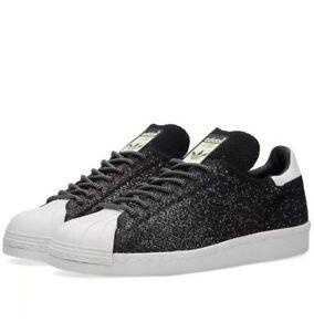 Asg Sneakers Details Pk Men's About Primeknit 80s Sz 12 Black Adidas Shoes Superstar Originals 6gbyY7vf
