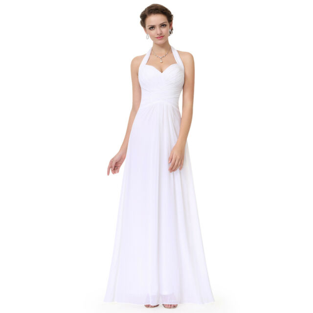55a66f4294c Chiffon Long Formal Evening Gown Party Prom Bridesmaid Dresses 08487 ...