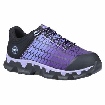 Comfort Shoes Timberland Pro Women's Powertrain Sd Work Shoes Black Purple Tb0a1h1s001 Clothing, Shoes & Accessories