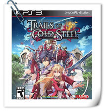 PS3 The Legend of Heroes: Trails of Cold Steel Sony PlayStation RPG Games Xseed