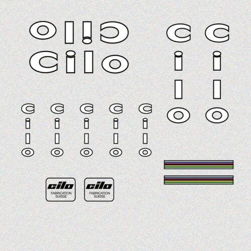 Sticker N.782 Cilo Bicycle Decals