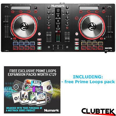 Numark Mixtrack Pro 3 DJ Controller + Serato DJ Intro UK