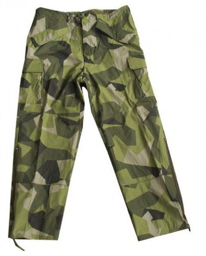 Svedese Tarn M90 Mimetico Freddo Meteo Ecwcs Impermeabile Pantaloni Piccolo