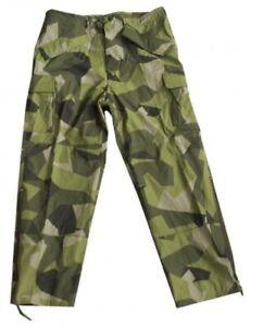 Inventif Le Suédois Tarn M90 Camouflage Cold Weather Ecwcs Froid Nässechutz Pantalon Medium-afficher Le Titre D'origine