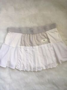 Adidas-by-Stella-McCartney-Off-White-Pleated-Lined-Tennis-Skirt-Size-Large
