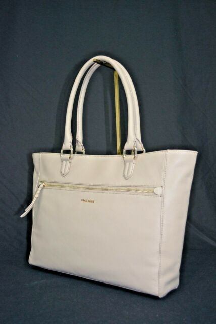 Cole Haan Antonia Large Satchel Genuine Leather Handbag Pick Your Color