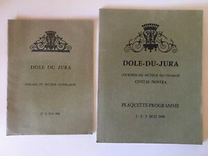 Programma Città Di Dolle jura Franche-Comté Backup Del Heritage 1968-70