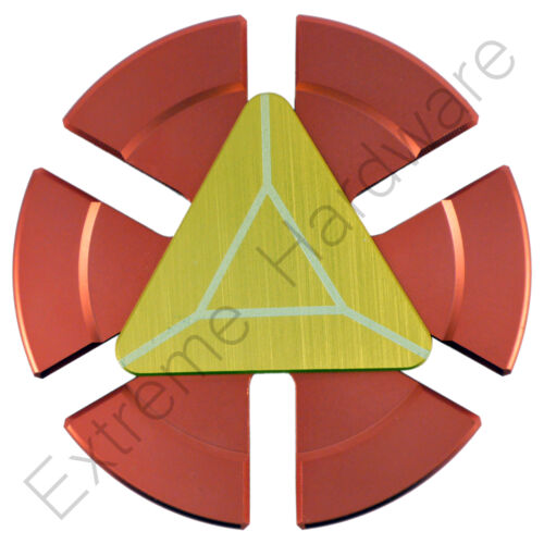 Iron Man cœur métal Fidget doigt Spinner main Focus EDC EN ACIER ROULEMENT UK