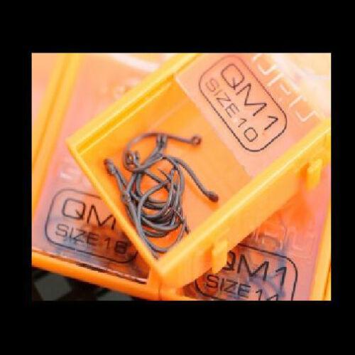 Match /& Coarse Fishing QM1 Hooks Guru Carp All Sizes