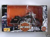 In Orig Hd Box--1994 To 1998 Harley-davidson Flhr Road King Bike W/hard Bags