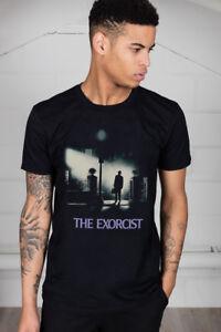 Official-The-Exorcist-Poster-Unisex-T-Shirt-Horror-Film-Movie-TV-Novel-William