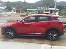 mazda CX-3 full  body kit  2016 painted