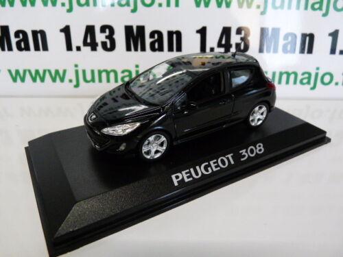 PEUGEOT 308 175 THP 3 portes noire PE25A VOITURE 1//43 NOREV