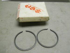 SUZUKI AS50 TS50  PISTON RING SET OEM