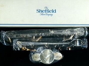 Sheffield-Silver-plate-bar-tools-spoon-fork-tip-knife-opener-jigger-box-new-NOS
