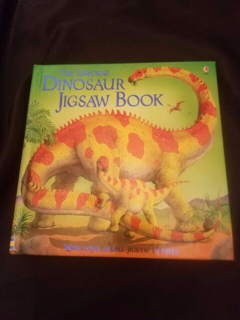 Dinosaur Jigsaw Book by S. Turnbull (2004, Hardcover)