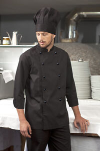 Chef-Jacket-Tunic-Chef-Man-Woman-Cooking-Uniform-Cotton-Working