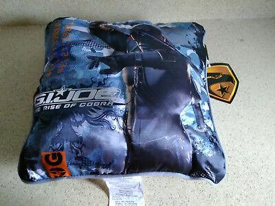 G I Joe Rise Of Cobra Decorative Pillow 12 X 12 New 73558644019 Ebay