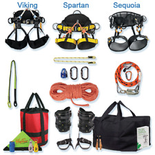 Tree Climbers Spur Amp Rope Climbing Deluxe Kit Spartan Saddledeluxe Spurs