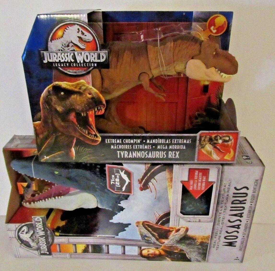 Jurassic World caído Reino MOSASAURUS sentir & legado Tiranosaurio Rex Real
