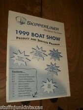 SkipperLiner Houseboat Catalog from 1999