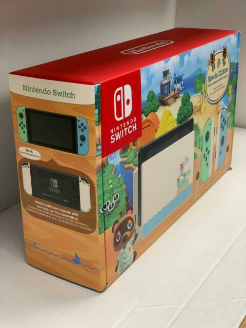 Nintendo Switch Animal Crossing New Horizons Special Edition 32GB Console