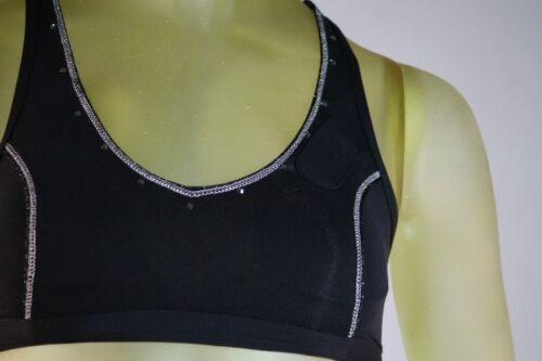 Soutien X gorge denise sport Yoga xs Sport Bodyrock running small Taille de entraînement noir vqwn54aUx