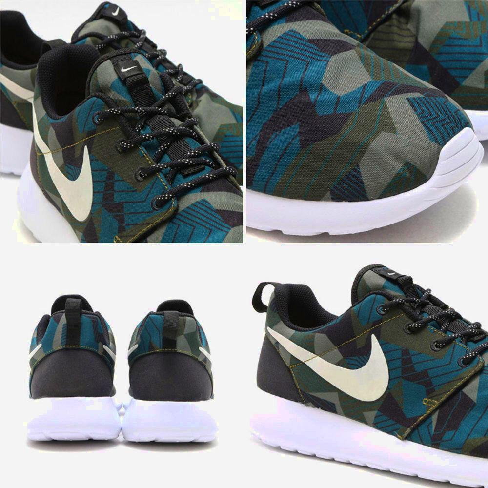 NIKE Scarpe  Roshe One Print  scarpe NEW NEW NEW scarpe da ginnastica NUOVE Uomo Donna 2 coloreI 7a567b