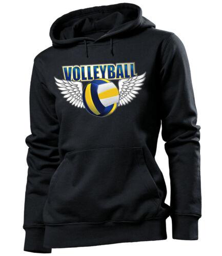 Volleyball Zubehör Training Frau T-Shirt Damen Mädchen Kapuzenpullover Hoodie