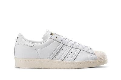 Adidas Originals Superstar 80s Deluxe WhiteCream Mens Trainers Shoes UK 10_11.5 | eBay