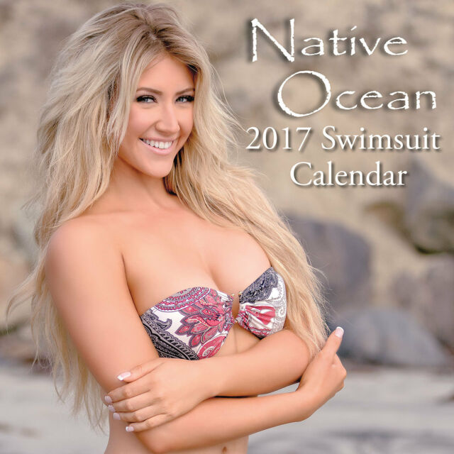 Native Ocean 2017 Swimsuit Calendar - Wall Calendar