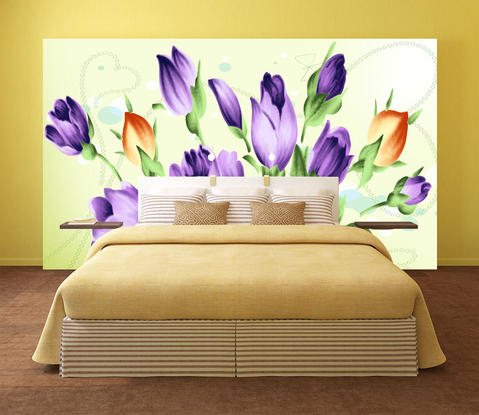 3D Fashion Flowers Bouquet 1 Wall Paper Print Decal Wall Deco Indoor wall Mural