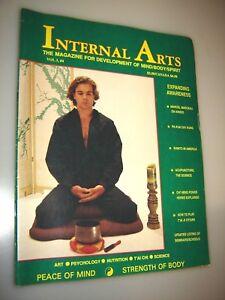 Details About Internal Arts Magazine July 1988 Mind Body Spirit Karate Kung Fu Martial Arts