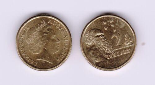 You Are Buying 1 $2 Coin. 2016 Australian $2 Coin Aboriginal Elder
