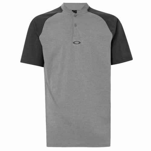 Lunettes homme 2020 Icône bi couleur 2 Bouton Manches Courtes Polo Shirt 42/% Off RRP