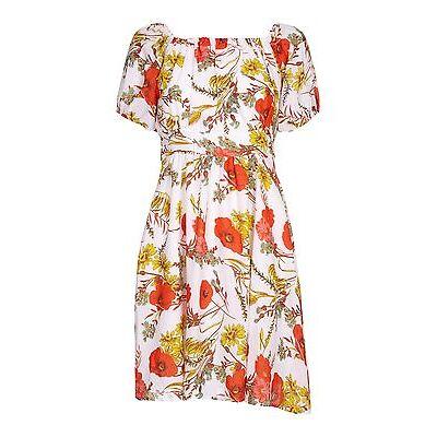 ISKA by YUMI Kleid Carmen Damen Sommerkleid Freizeit Frühling apart creme RA1663