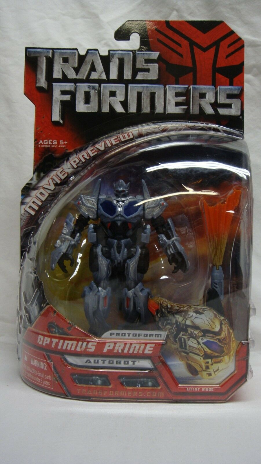 TRANSFORMERS MOVIE PREVIEW AUTOBOT OPTIMUS PRIME PredOFORM DELUXE CLASS NEW