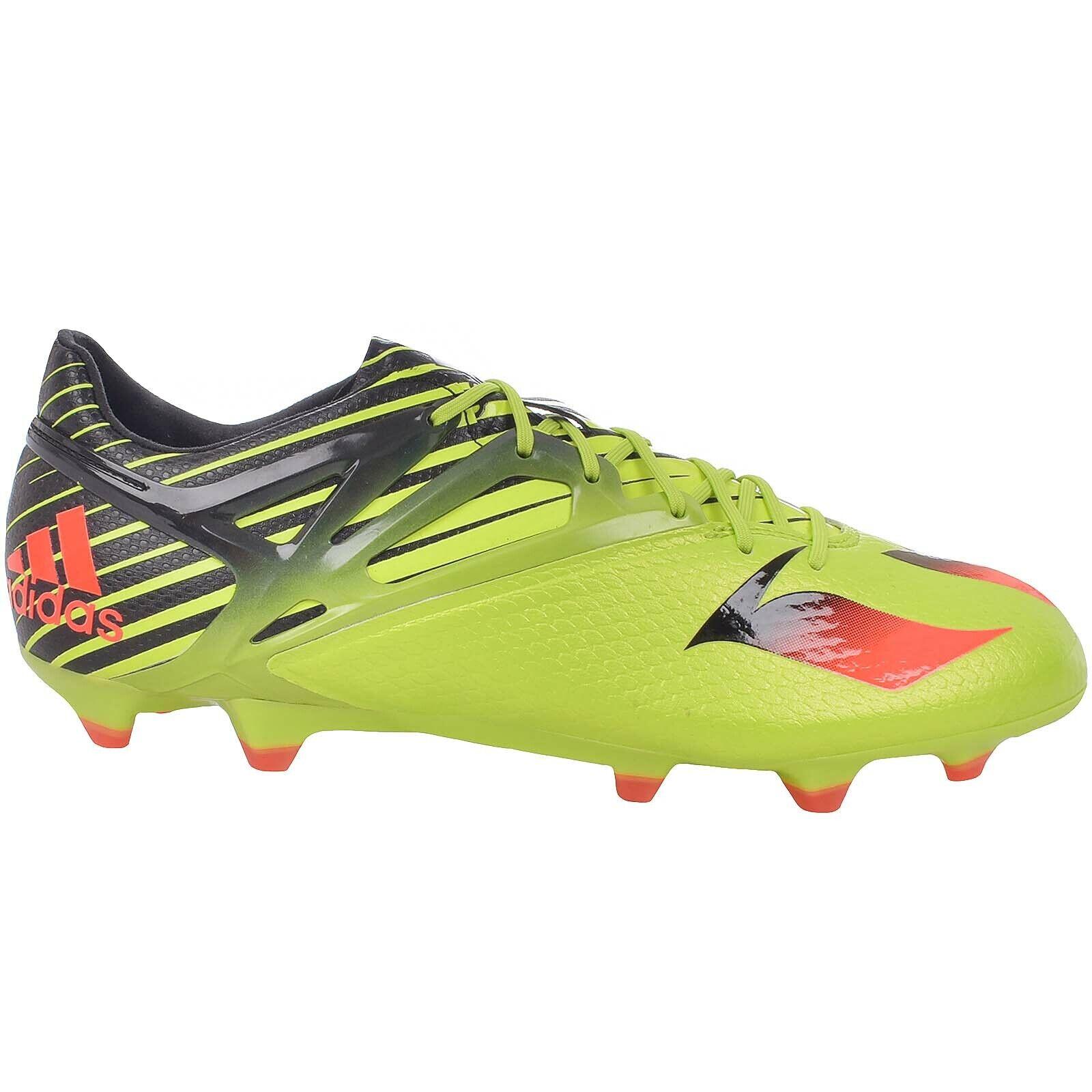Adidas Performance Herren Messi 15.1 Festen Boden Fußballschuhe Schuhe - Grün