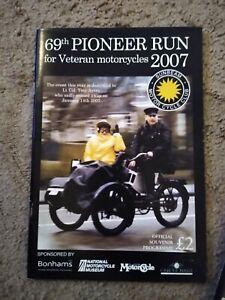 Sunbeam-Motor-Cycle-Club-Pioneer-Run-Programme-69th-2007