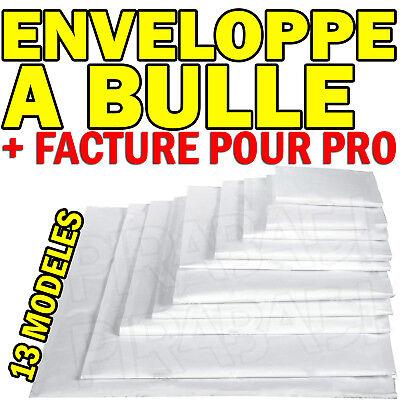 200 Enveloppes /à bulles dair pochettes matelass/ées dexp/édition PRO taille L//11 int JECO 400 x 470 mm