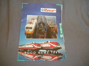 496B Roco Ho 1:87 Catalogue 24 Pages 1/87 Année 1991 Tampon Magasin