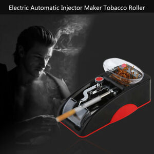 AU_Mini Automatic Cigarette Rolling Machine Electric Automatic Tobacco RollBL