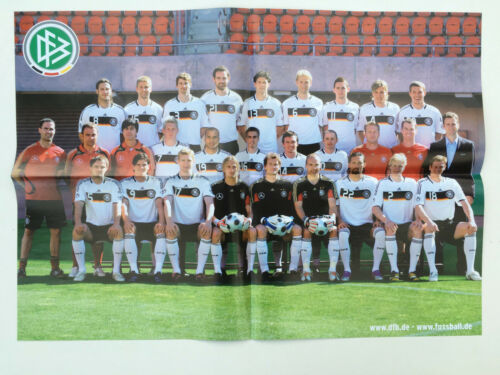 DIN A2 Poster Deutsche Nationalmannschaft 2008 Lukas Podolski