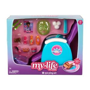 My-Life-As-Spa-Play-Set-for-18-034-Doll-New