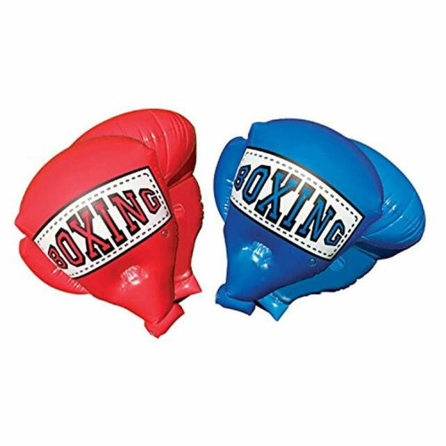 """Novelty Jumbo Inflatable 1-Pair Boxing Gloves 24.5"""" X 16"""" Inflated Sz Blow-up"""