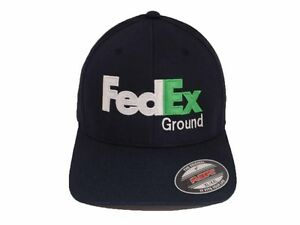 bccffe174a8561 Image is loading FedEx-Ground-Flexfit-Hat-Yupoong-Structured-Twill-Cap-