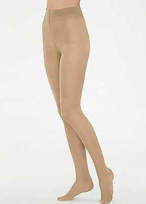 """City Queen Large Size  Run Resist 20 Denier Tights Up to 80/"""" Hip 100/% Nylon"""